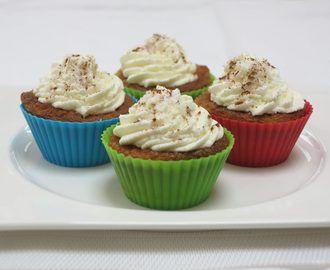 Koolhydraatarme pompoen cupcakes