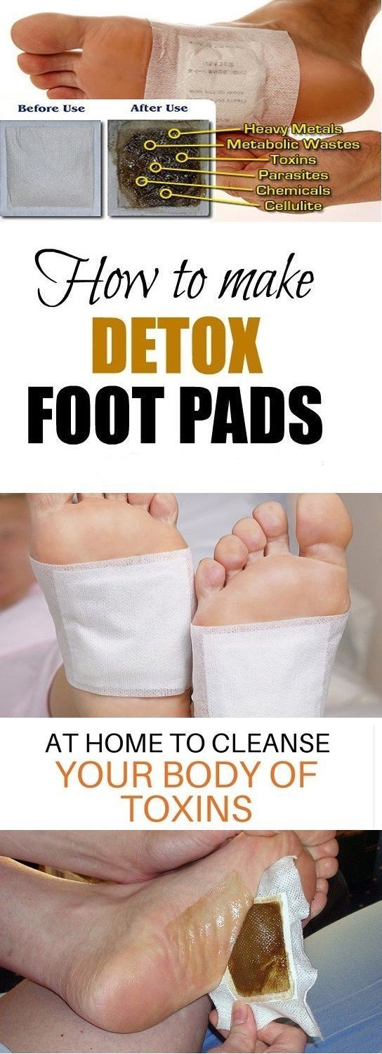 In the past, this kind of homemade detox foot pads were made and used by people in Japan. We are talking about stick-on pads which should be placed on the bottom of your feet before you go to bed. …