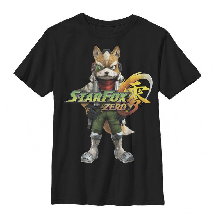 Boys star fox zero fox mccloud