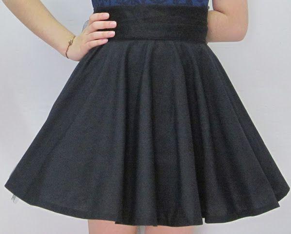 EL BAÚL DE LAS COSTURERAS: Confección falda rotonda