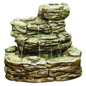 Cement Home Depot And Rock Fountain On Pinterest
