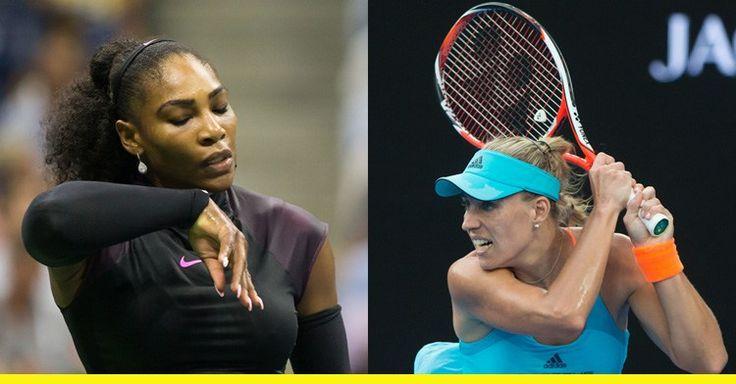 Angelique Kerber und Serena Williams hatten ein Rennen auf die Nummer 1 vor sich - doch Serena Williams zieht zurück und Angelique Kerber kehrt automatisch an die Spitze der Weltrangliste zurück. (Bild (c) Hasenkopf)