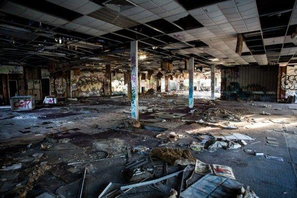 Abandoned factory, Sydney