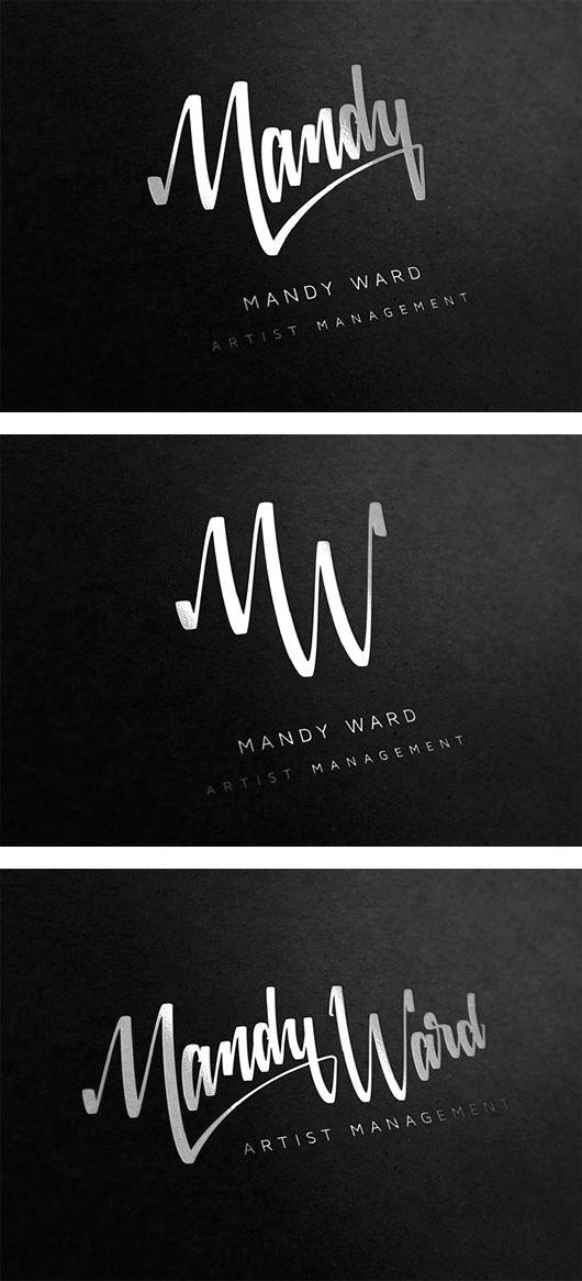 Mandy Ward Visual Identity.: Design Inspiration, Visual Identity, Mandy Ward, Grid Design, Logos Design, Graphics Design, Photography Art, Logotyp Art, Inspiration Grid
