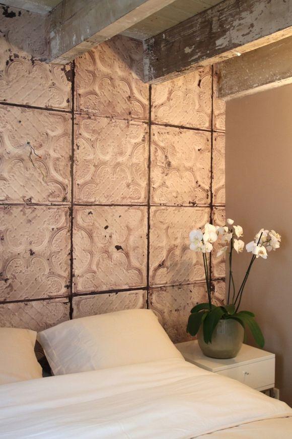 Gaaf behang! Merci Brooklyn Tin wallpaper - 29