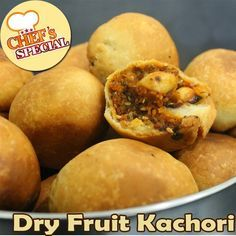 Kachori is a very famous savoury recipe in India. You must have tried a lot of kachoris but we made this one with dry fruits, you can store this for almost a month. Visit out tumblr page to view this interesting recipe: http://yummyindianrecipes.tumblr.com/post/77701916038/kachori-is-a-very-famous-savoury-recipe-in-india