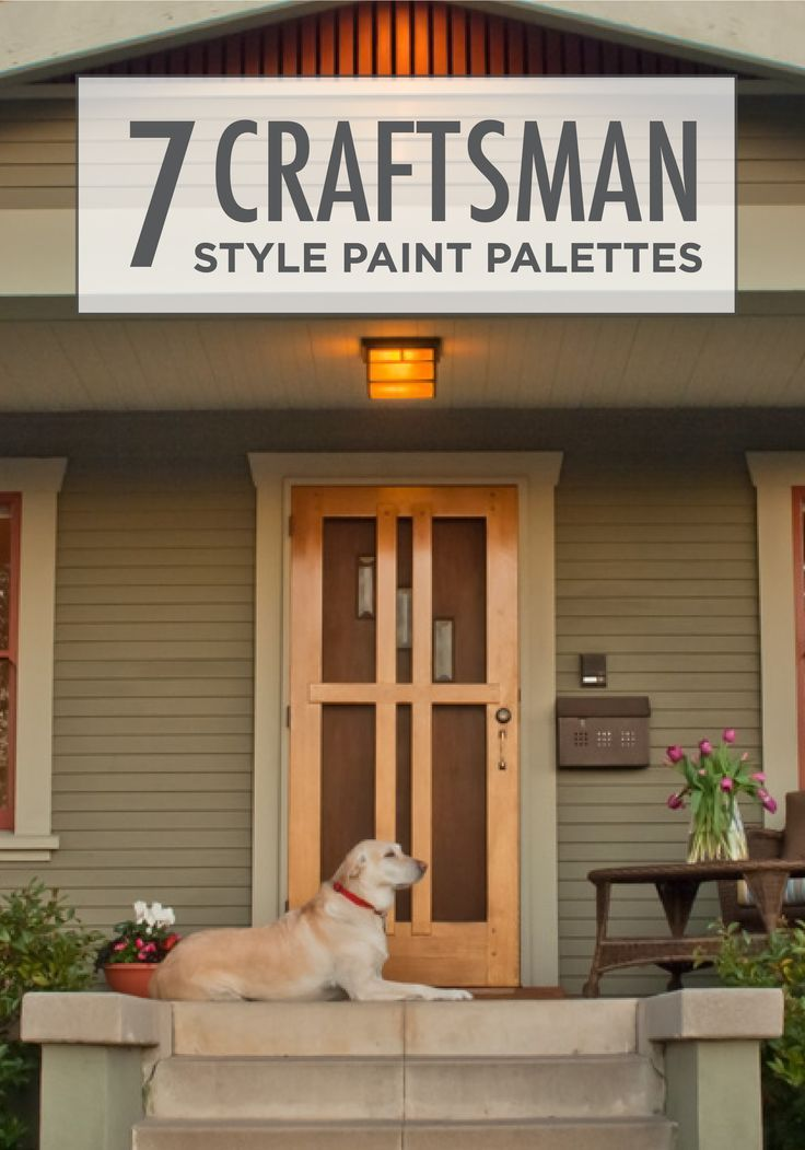 Beat the winter blues and get ready for spring by highlighting the craftsman architecture of your home with BEHR paint in Dried Chive green and Autumn Air orange. This color combination is wonderful for adding curb appeal as well!#contest