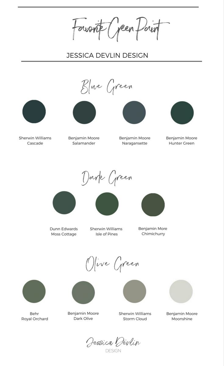 Green Interior Paint Colors The Best Green Paint Colors My Favorite Green Paint
