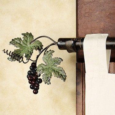 Vina Bella Decorative Rod And Finial Set   28u201d To 88u201d