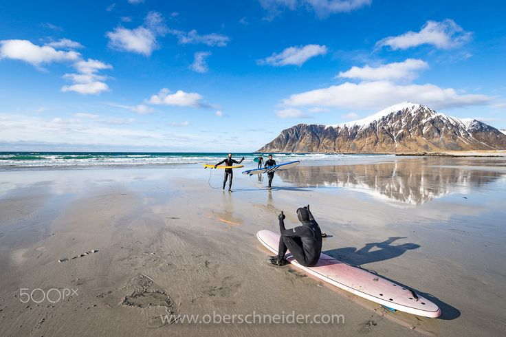 """Surfing the Arctic Ocean - Exploring the backcountry on the Lofoten Islands, Norway.  Image available for licensing.  Order prints of my images online, shipping worldwide via  <a href=""""http://www.pixopolitan.net/photographers/oberschneider-christoph-a6030.html"""">Pixopolitan</a> See more of my work here:  <a href=""""http://www.oberschneider.com"""">www.oberschneider.com</a>  Facebook: <a href=""""http://www.facebook.com/Christoph.Oberschneider.Photography"""">Christoph Oberschneider Photography</a…"""