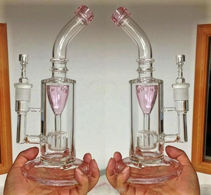 Pink Oil Rigs Recycler Glass Bongs 2016 Top Quality Two Function Hookahs Smoking Bongs Water Pipes Glass Pipes Bong From Cheersmoking, $48.17 | Dhgate.Com