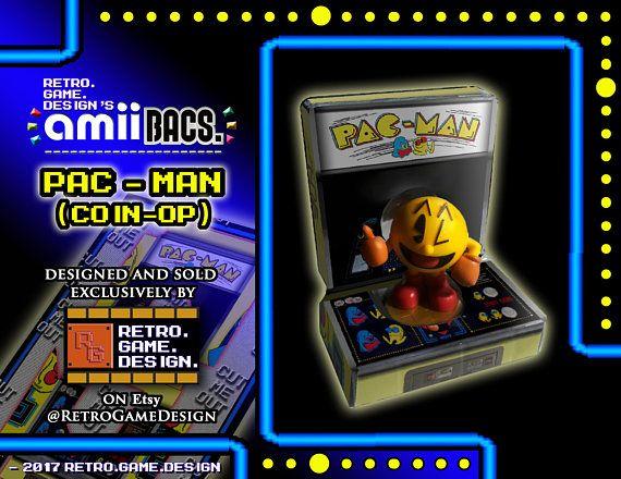 Super Smash Bros Pac-Man (Coin-Op) AmiiBac