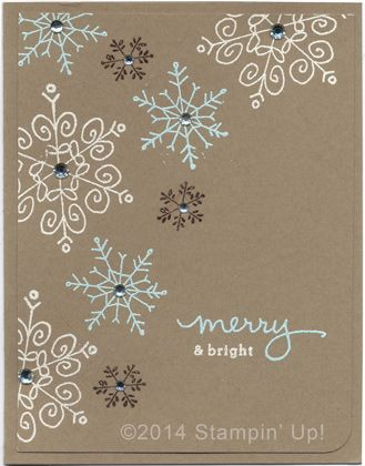 Stampin' Up! Cards - Endless Wishes stamp set