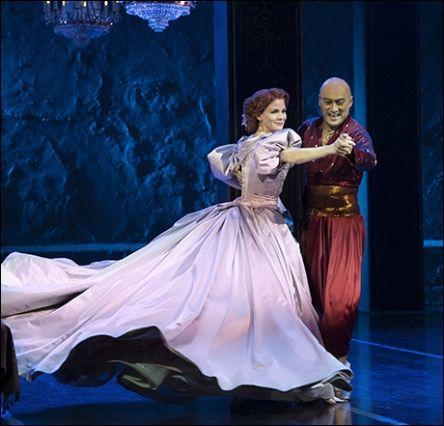 Shall We Dance? - Kelli O'Hara and Ken Watanabe. I want to see this!!!!