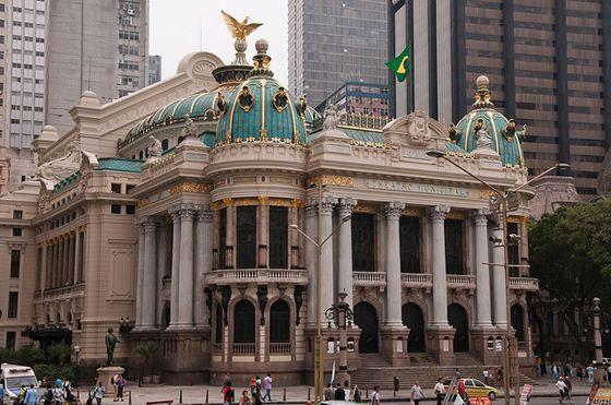 Teatro Municipal do Rio de Janeiro - Rio de Janeiro Theatre