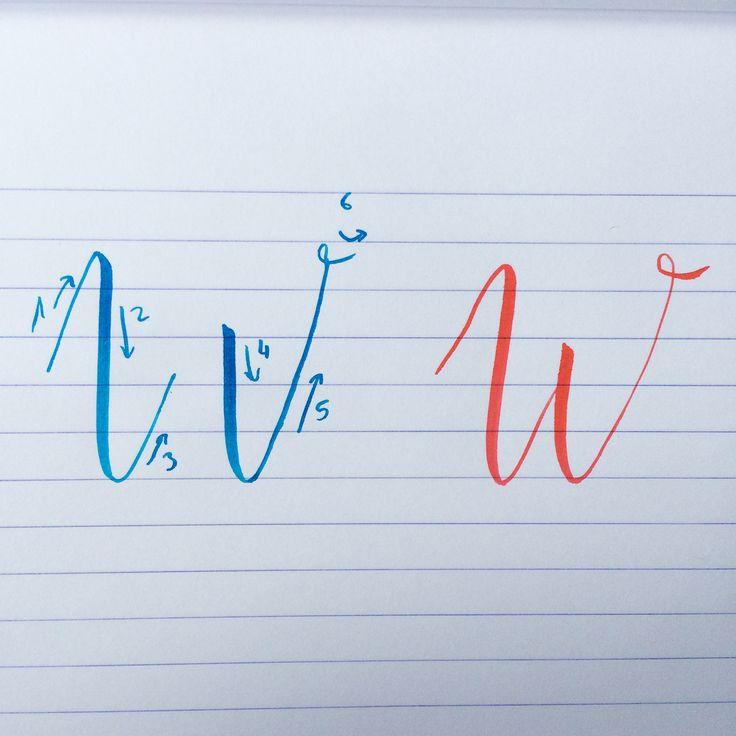 On double les devoirs d'hier avec le W #backtobasics_abc
