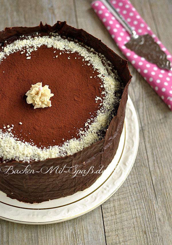 Schoko Karamell Torte Rezept Torten Kuchen Pinterest