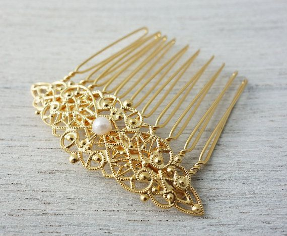 Eleanor Hair Comb, wedding hair accessory, bridal head piece