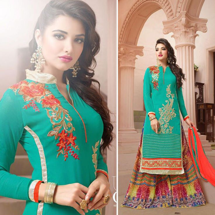 Pakistani Indian Shalwar Kameez Bollywood Designer Party Wear Girls Suit Wedding #Handmade #SalwarKameezSuit