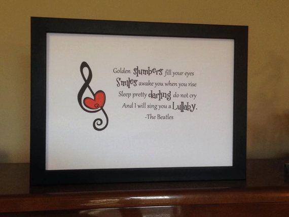Music, Sleep, Lyrics and Love by TinkerTailorDesign