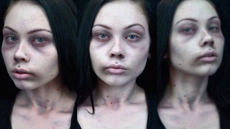 - CADAVER / DEAD GIRL - QUICK AND EASY COSTUME MAKEUP TUTORIAL -