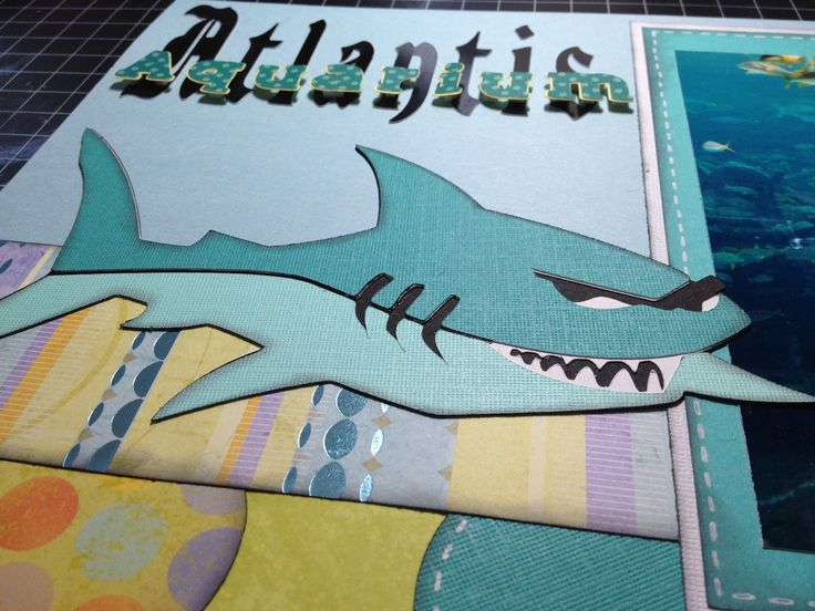 The Shark Is From Fun In The Sun Cricut Cartridge And Was