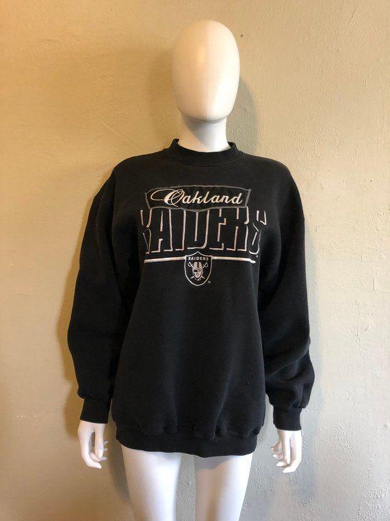 91ebc007fda Oakland RAIDERS football vintage Sweatshirt Large ...