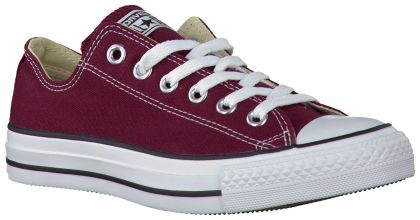 Rode Converse Sneakers AS SPEC OX CANVAS