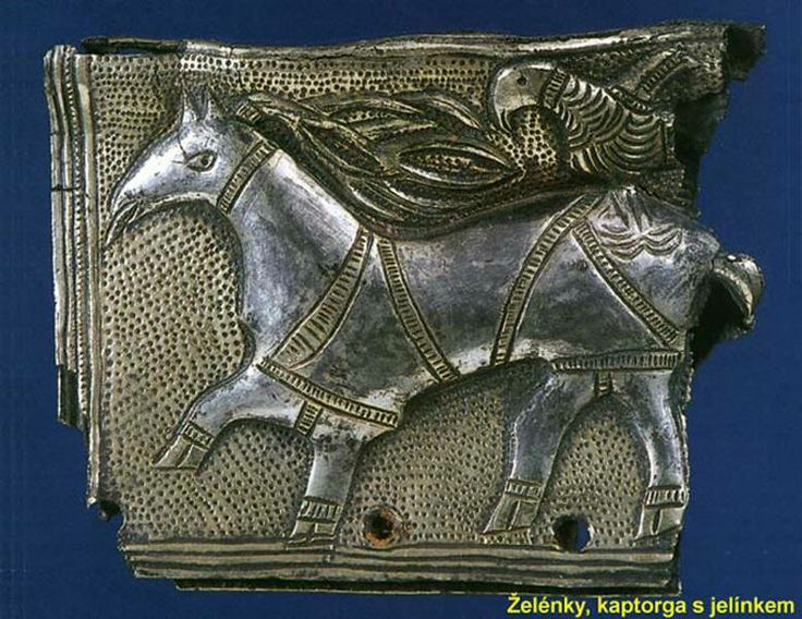 Czech Republic - West Slavs | Kaptorga - early medieval container for amulets and/or sacred herbs, worn around the neck.