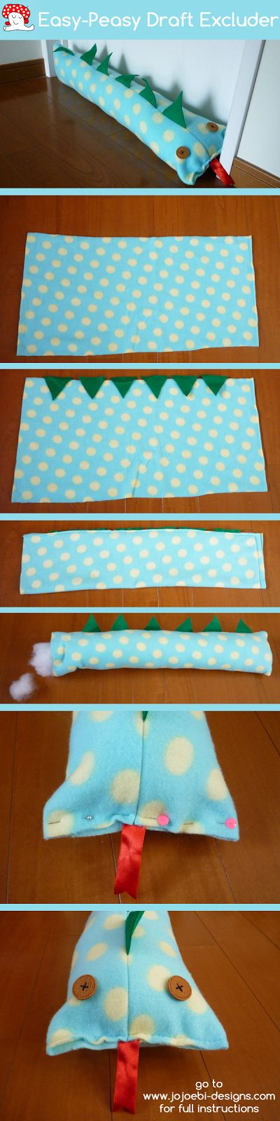 Easy Draft Excluder Tutorial - Suitable For Beginners And Kids!