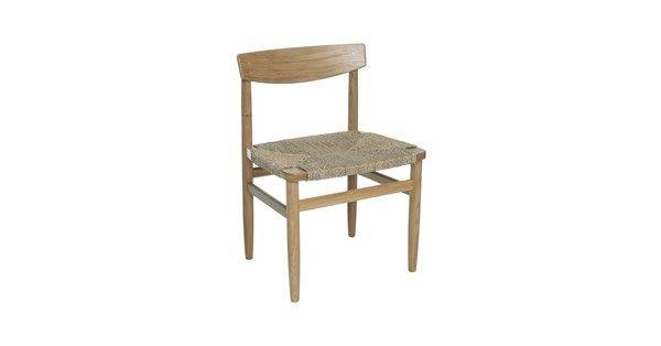 Öresund stol tillverkad i lackad ek med sjögräsflätad sits. Öresund stol är en klassisk stol, formgiven av Børge Mogensen. Serien Öresund passar i flera olika miljöer som det klassiska, funkis eller ultramoderna hemmet eller kontoret.