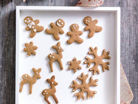 Speculaasjes met glazuur - Libelle Lekker Leuk om te bakken in de aanloop naar kerst.