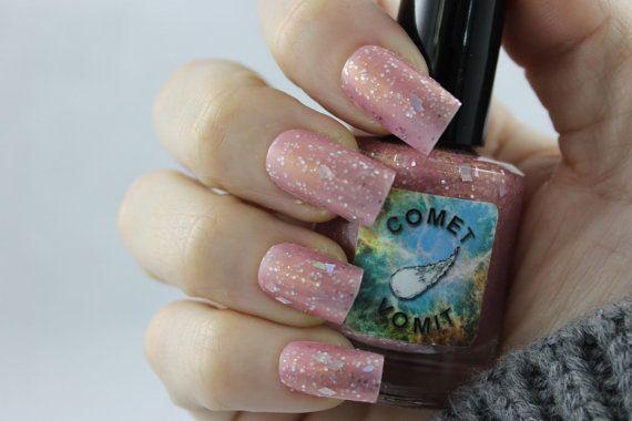 Hubble Bubble nail polish by Comet Vomit