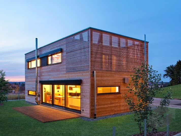 Fertighaus modern flachdach  27 besten Bauhäuser Bilder auf Pinterest | Architektur, Flachdach ...