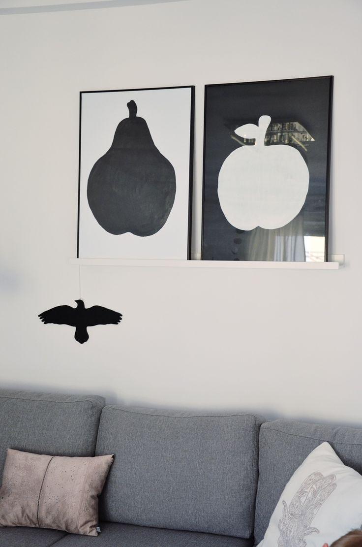My little home My passion: DIY - OWOC NA ŚCIANIE
