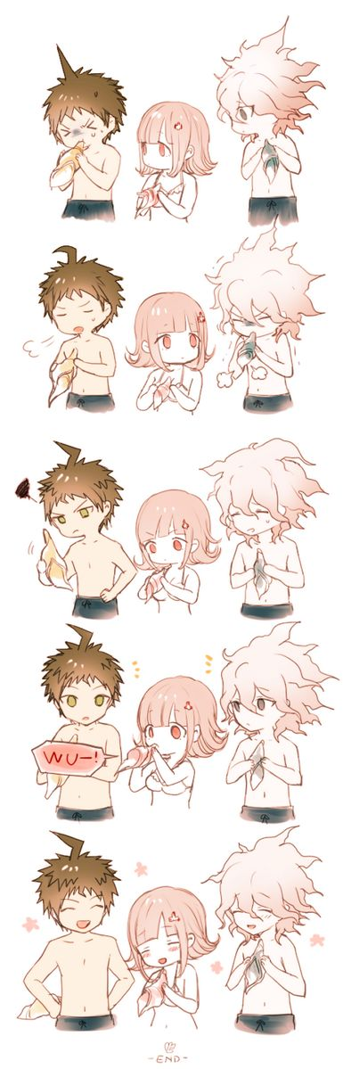 Aww my Boyfriend and his boyfriend are so cute.... I guess Chiaki is too... Haha