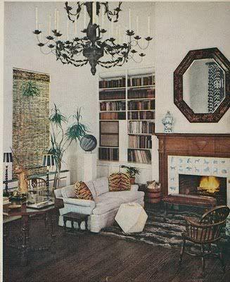 Surprising Rooms from 1910s-1970s,  Albert Hadley