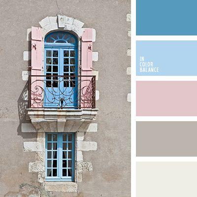 Именно такой нежный оттенок голубого цвета в сочетании с розовым создадут прекрасный, не вульгарный тандем.