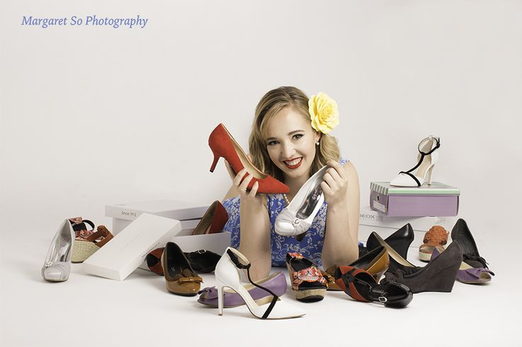 A lover and collector of beautiful shoes. Model: Phoebe Deklerk, Hair and makeup artist: Eve O'Shea, Photographer and stylist: Margaret So