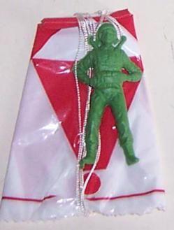 Paracaidistas #Toys #Vintage #70Years