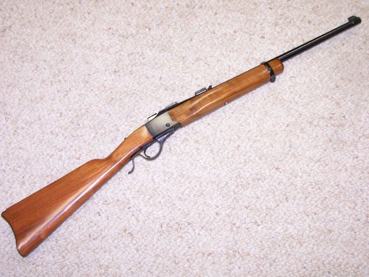 Gun-Gallery — Ruger No.3 - .22 Hornet