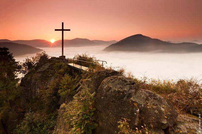 Skalní vyhlídka Mlynářův kámen, Dubice | Porta Bohemica
