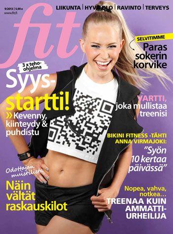 Fit 9/2013 #fitlehti #kansi