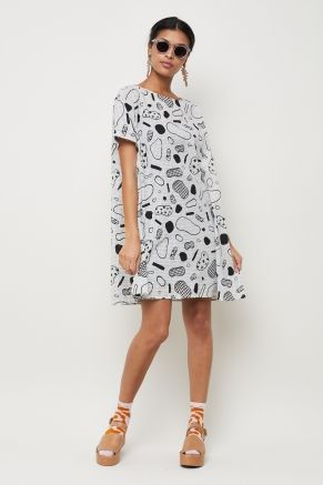 Doodles Swing Dress