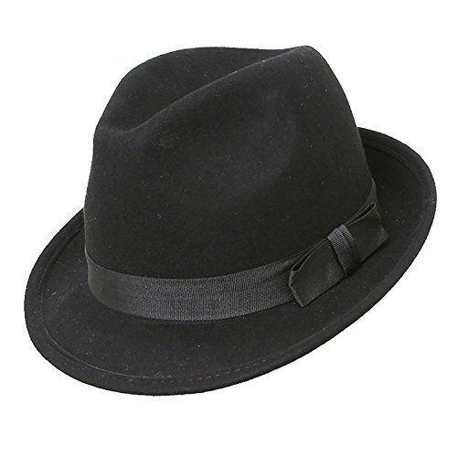 100 kr. Quality Black Felt Trilby Hat, Available In Four Sizes, BNWT (58cm) Top Brand http://www.amazon.co.uk/dp/B004046KVU/ref=cm_sw_r_pi_dp_JJh3wb1RA4CR9