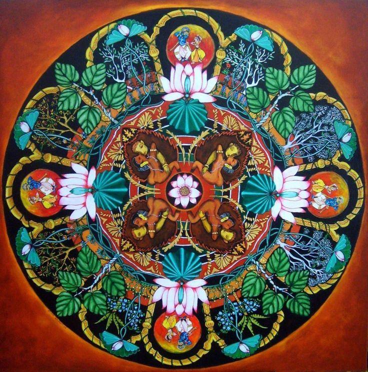 Mandala coloriage mandala pinterest les dieux for Jardin mandala