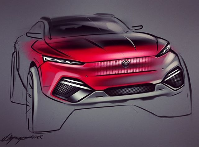 Another suv ;) #cardesigncommunity #carsketching #cardesign #automotive #conceptcar #digitalsketch #photoshop #jaguar #creative #drawing #industrialdesign #designer #funtime #passion #millionairelifestyle #dreamcar #luxurycars #instalike #polish #awesome #supercar #designstudio #inspiration #daily #young #fresh #style #crazy