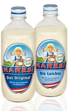 Maresi ist die beliebteste Kaffeemilch Österreichs und wird seit 1955 im steirischen Ennstal produziert. www.maresi.at