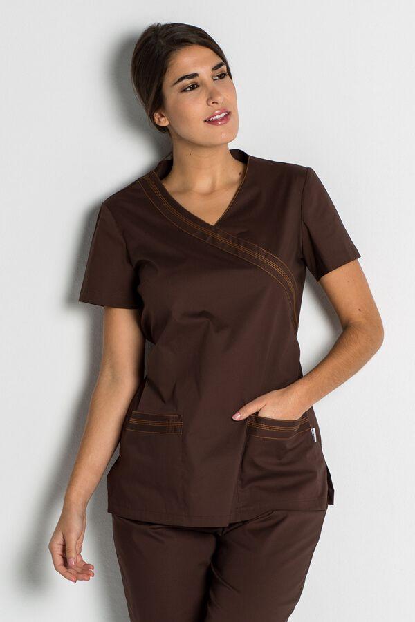 blouse infirmière stretch
