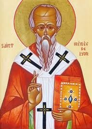 st irenaeus * m's saint * this one is going to be tougher...